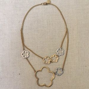 Marc Jacobs tiered necklace